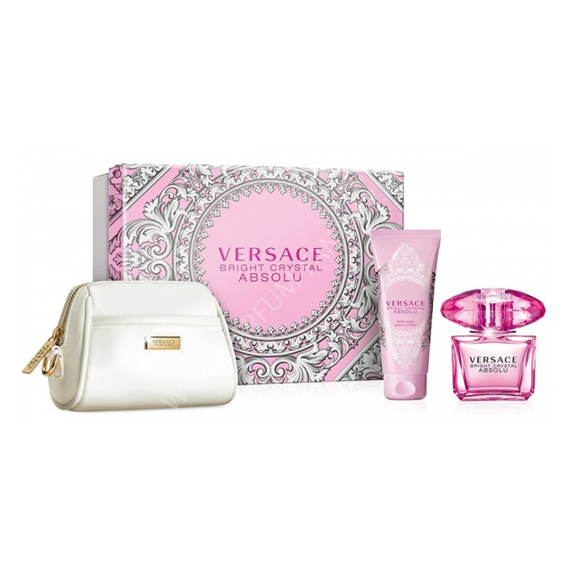 Фото - VERSACE Bright Crystal Absolu Set 3